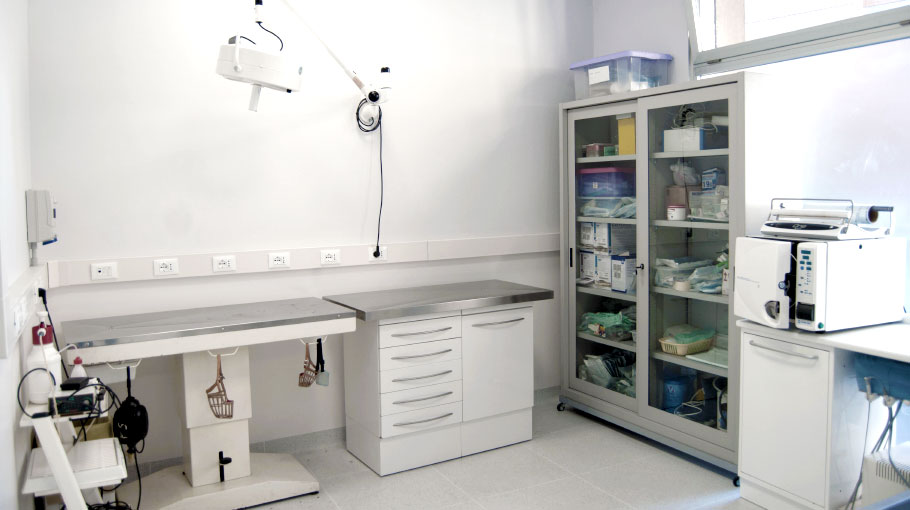 Sala pre-chirurgica